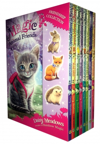 Magic Animal Friends Collection 8 Books Boxed Gift Set (1 to 8) by Daisy Meadows
