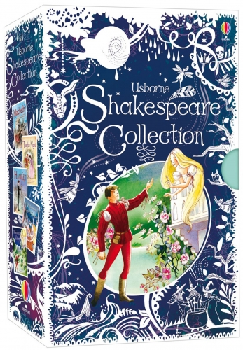 Usborne Shakespeare Childrens Stories 5 Books Collection Gifts Set Pack by Usborne