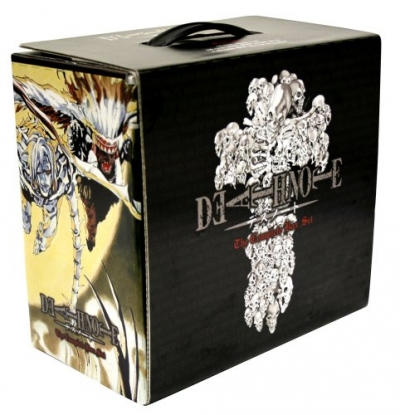 Death Note Box Set Vols 1-13 by Tsugumi Ohba and Takeshi Obata by Tsugumi Ohba, Takeshi Obata