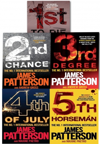 Womens Murder Club Collection James Patterson 5 Book Set (1 to 5) by James Patterson
