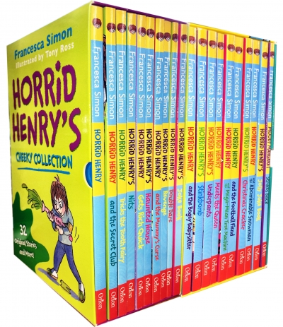 Horrid Henry Books Collection 20 Books Box Set by Francesca Simon