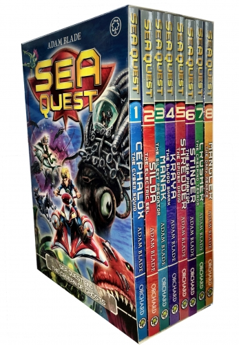 Sea Quest Series 1 and 2 Collection Adam Blade 8 Books Box Set (Book 1-8) by Adam Blade