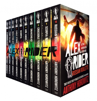 Alex Rider Collection 10 Books Anthony Horowitz Set Pack Russian Roulette by Anthony Horowitz