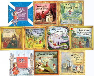 James Mayhew Katie Collection 10 Books Set by James Mayhew