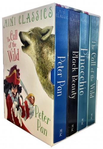 Miles Kelly Mini Classics 4 Books Collection Box Set  (Mini Classics Series 2) by Miles Kelly