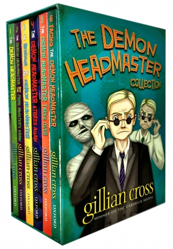 The Demon Headmaster Collection Gillian Cross 6 Books Box Gift Set by Gillian Cross