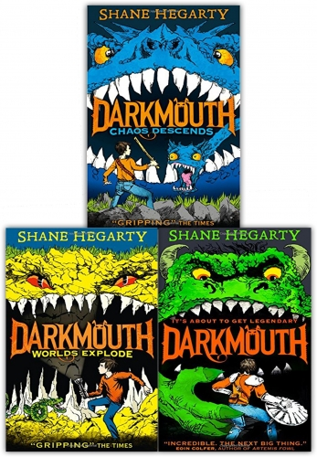 Darkmouth Volume 1-3 Collection 3 Books Set by Shane Hegarty