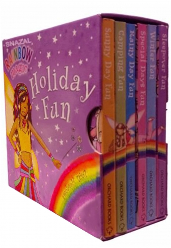 Rainbow Magic Holiday Fun Little Pocket Library 6 Book Set by Daisy Meadows