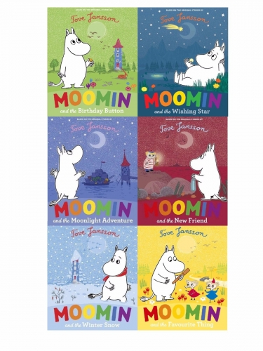 Moomins Picture Book Collection 6 Books Set Tove Jansson Children Gift Set Pack by Tove Jansson