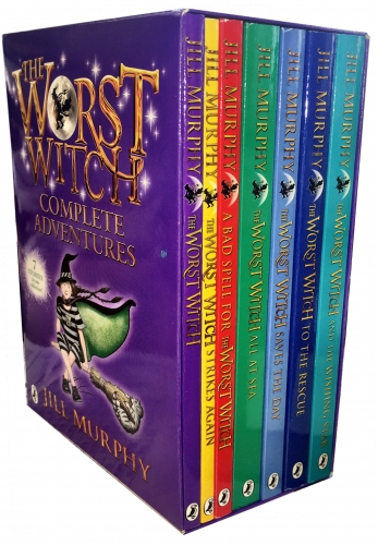 The Worst Witch Complete Adventure Collection Jill Murphy 7 Books Box Gift Set by Jill Murphy
