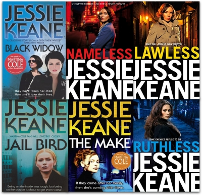 Jessie Keane Collection Annie Carter Series 6 Books Set (Ruthless, Nameless, Lawless, Black Widow, Jail Bird, The Make) by Jessie Keane