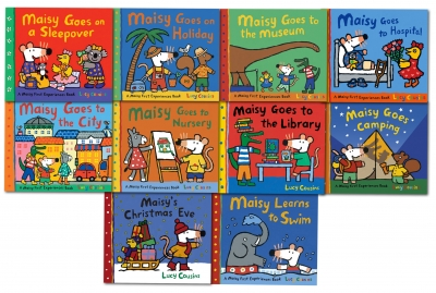 Maisy Mouse Loves Collection 10 Books Set Lucy Cousins Early Learners Children by Lucy Cousins