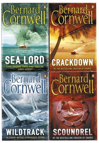 Bernard Cornwell Collection 4 Books Set by Bernard Cornwell