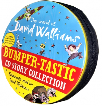 The World of David Walliams Story Collection Audio Books 27 CD Set Tin Pack NEW by