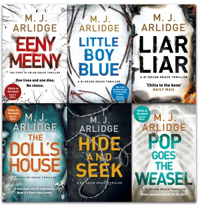 M. J. Arlidge Detective Inspector Helen Grace Series Collection 6 Books Set Pack by M. J. Arlidge