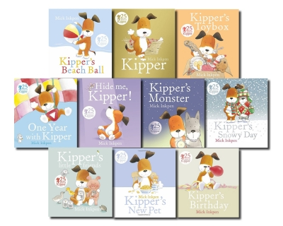 Kipper the Dog Collection Mick Inkpen 10 Books Set by Mick Inkpen