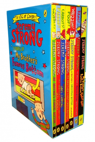 Jeremy Strong Stories of My Brother's Famous Bottom Collection 7 Books Box Set by Jeremy Strong