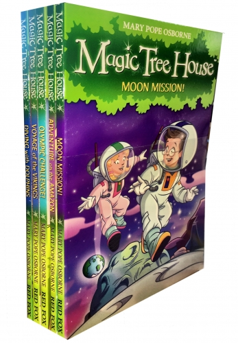 Magic Tree House Series Children Collection 5 Books Set by Mary Pope Osborne