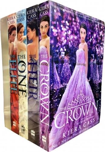 The Selection Series Collection Kiera Cass 5 Books Set, Fairy tale, by Kiera Cass