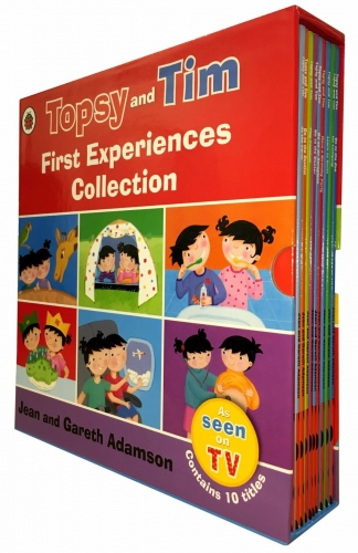 Topsy and Tim First Experiences Collection 10 Books Box Set by Jean and Gareth Adamson