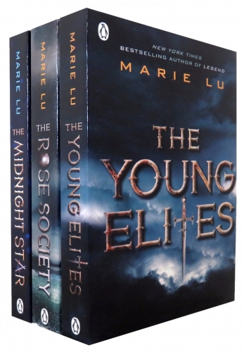 The Young Elite Marie Lu Collection 3 Books Set by Marie Lu