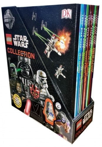 Dk LEGO Star Wars Collection 10 Books with Minifigure Gift Set Pack by Dk