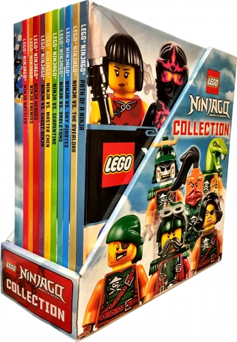 Lego Ninjago Collection 10 Books Box Set  Inc Minifigure Toy by DK