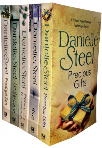 Danielle Steel  Collection 5 Books Set (Precious Gifts, Blue, Property of a Noblewoman, Undercover, Prodigal Son) by Danielle Steel