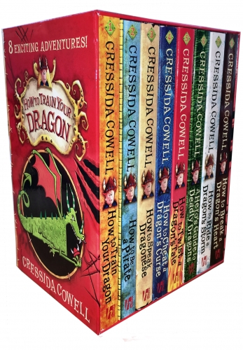 How to Train Your Dragon 8 Books Collection Box Set By Cressida Cowell by Cressida Cowell