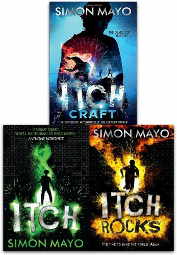 Simon Mayo  Itch Collection 3 Books Set by Simon Mayo