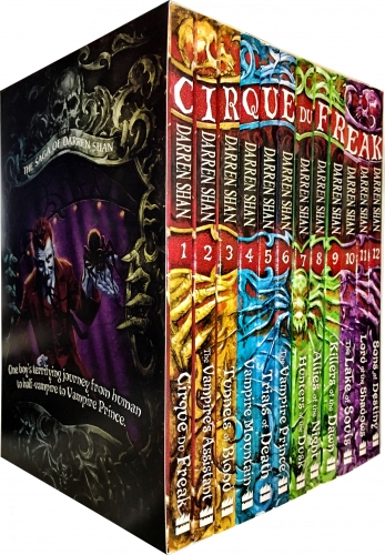 Cirque Du Freak Vampire Series - Darren Shan Complete 12 Book Collection Set