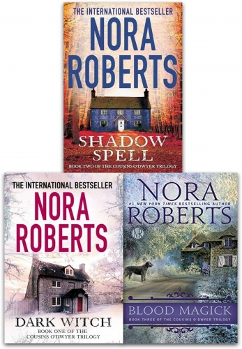 Fiction & Poetry The Cousins ODwyer Trilogy Nora Roberts Collection 3 Books Set