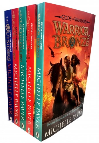 Fiction & Poetry Michelle Pavers Gods and Warriors Collection 5 Books Set