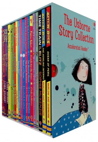 The Usborne Accelerated Readers Story Collection 20 Books Box Set