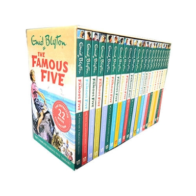 Famous Five Enid Blyton Complete Collection 22 Books Box Set by Enid Blyton