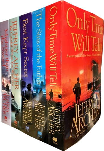 Jeffrey Archer The Clifton Chronicles Collection 5 Books Set Jeffrey Archer books by Jeffrey Archer