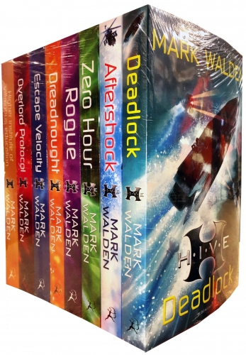 Mark Walden HIVE 8 Books Collection Set Pack by Mark Walden
