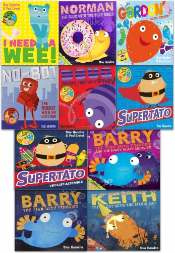 Sue Hendra Supertato and Other Stories Collection 10 Books Set by Sue Hendra