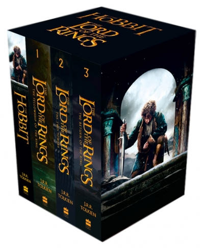 The Lord Of The Rings The Hobbit 4 Books Collection Set by J.R.R.Tolkien