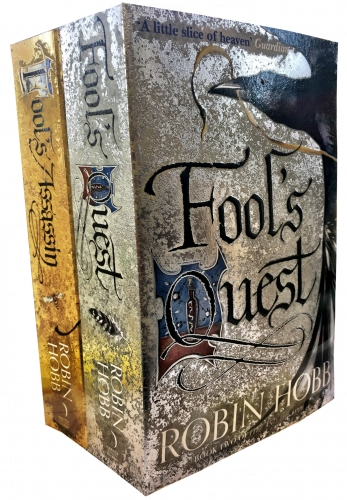 Robin Hobb Fitz and the Fool Collection 2 Books Set (Fools Assassin, Fools Quest) by Robin Hobb