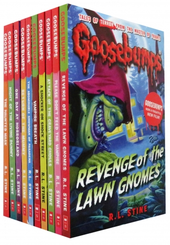 Goosebumps Horrorland Series Collection 10 Books Set NEW Titles by R. L. Stine