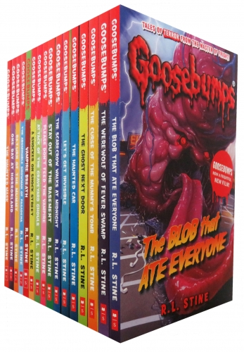 The Classic Goosebumps Series 18 Books Collection Set by R. L. Stine by R. L. Stine