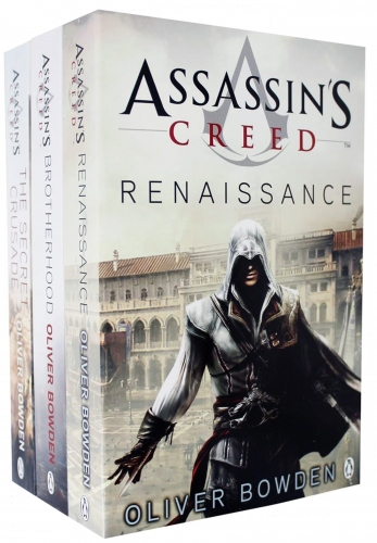Assassins Creed 3 Books Collection set Volume 1 to 3 by Oliver Bowden (Renaissance, Brotherhood, The Secret Crusade) by Oliver Bowden