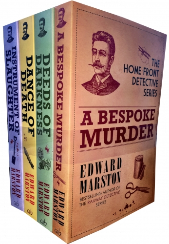 Home Front Detective Series Collection Edward Marston 4 Books Set by Edward Marston