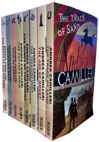 Inspector Montalbano Collection Andrea Camilleri 8 Books Set 11-18 by Andrea Camilleri
