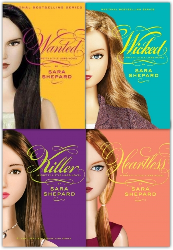 Wicked Pretty Little Liars Series 2 Collection Sara Shepard 4 Books Set Wicked Killer Heartless Wanted by Sara Shepard