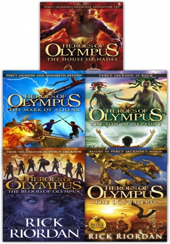 Heroes of olympus Complete Collection 5 Books Set by Rick Riordan by Rick Riordan