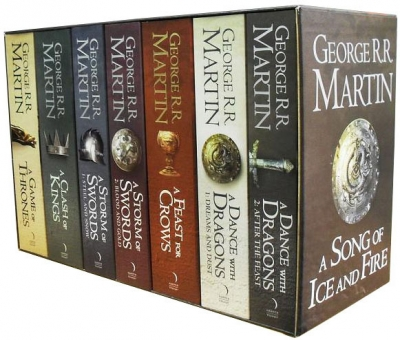 George R.R Martin: A Song of Ice and Fire 7 Books Collection Set A Game of Thrones Box Set by George R R Martin