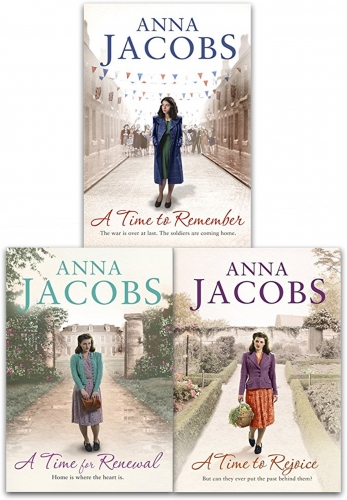 Anna Jacobs Rivenshaw Saga Series Collection 3 Books Set (A Time to Remember, A Time for Renewal, A Time to Rejoice) by Anna Jacobs