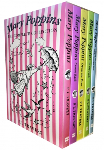 Mary Poppins The Complete Collection 5 Books Box Set by P. L. Travers